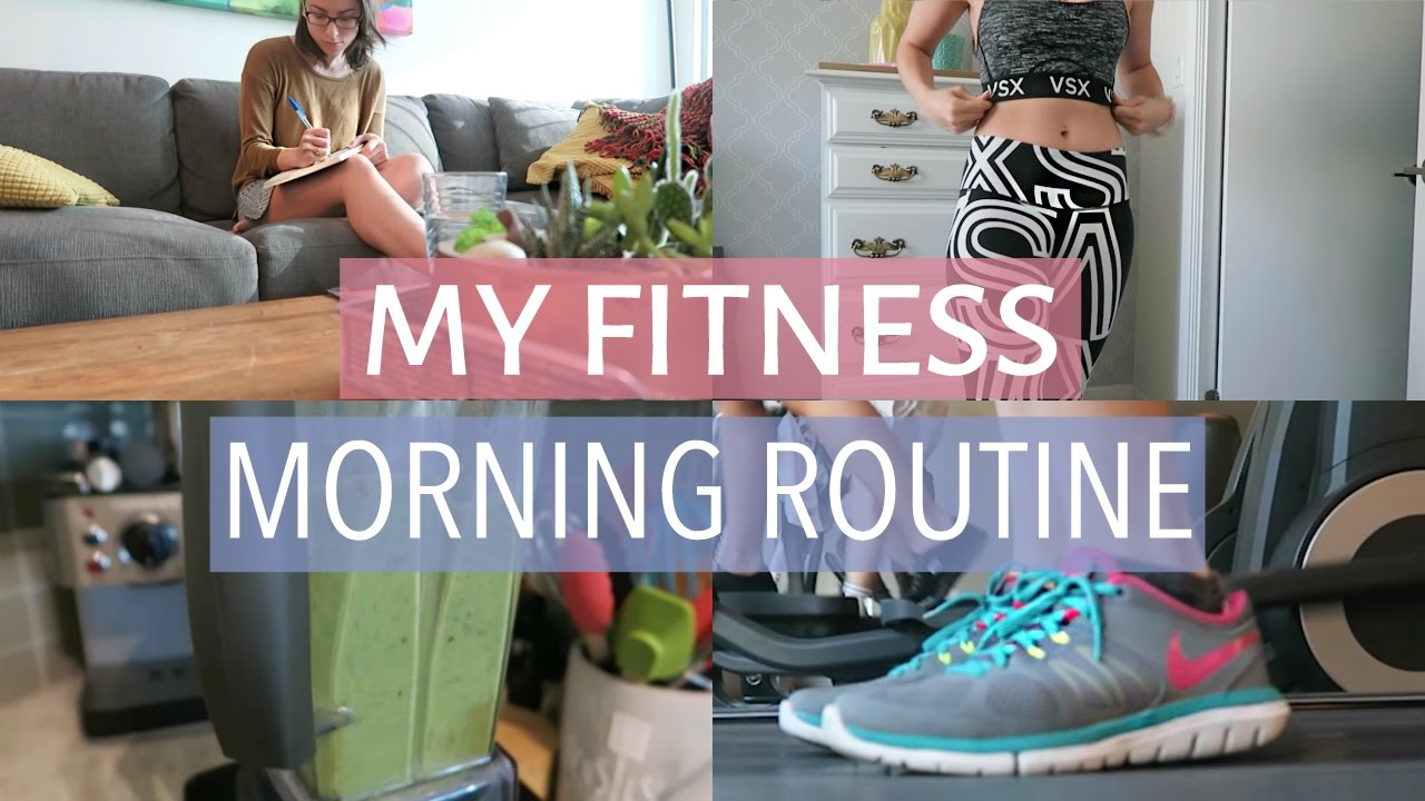 MY FITNESS MORNING ROUTINE | Healthy Morning Habits image