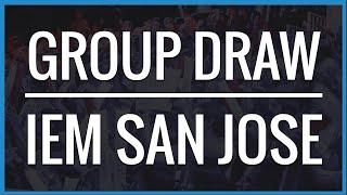 IEM San Jose 2015 Bracket Draw
