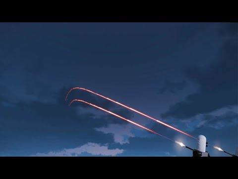 U.S. Air Defense System in Action - Shooting Down Jet and Drones - Phalanx CIWS - ARMA 3