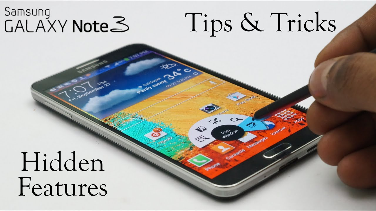 Galaxy Note 3 Software - Tips & Tricks, Hidden Features & Everything Else - Part 1/2