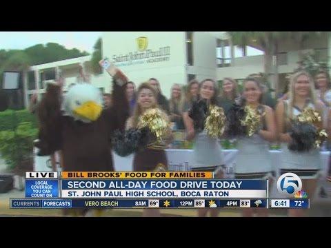 Bill Brooks Food Drive in Boca Raton on Friday