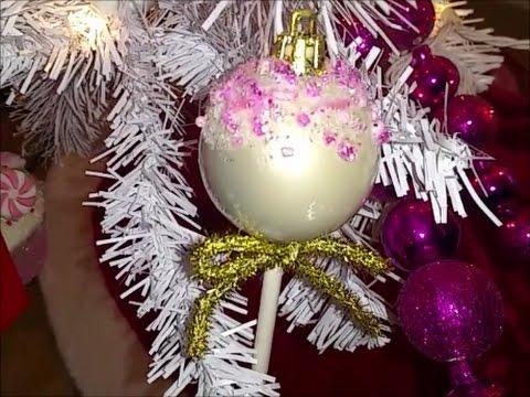 diy cake pop ornaments - Diy Cake Pop Ornaments - YouTube
