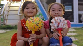 Learn Colors With Candy Giant Lollipops for Kids Children Toddlers Finger Family Nursery Rhyme Songs