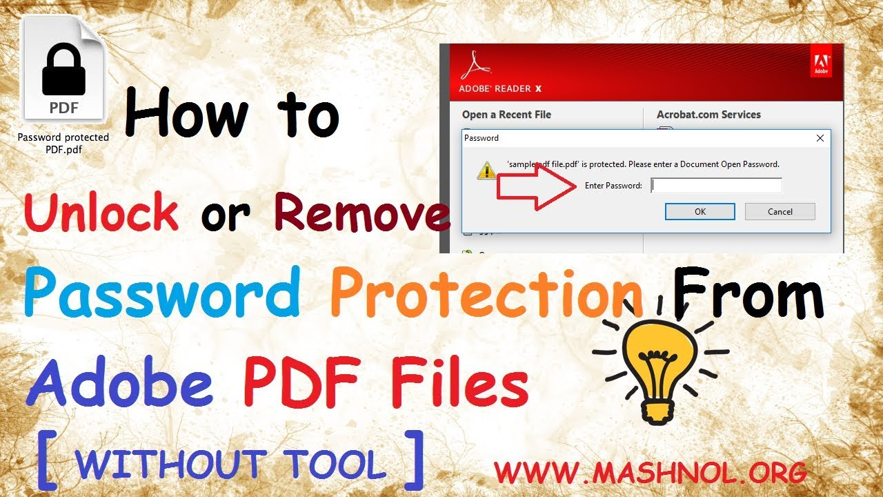 Unlock Pdf Document