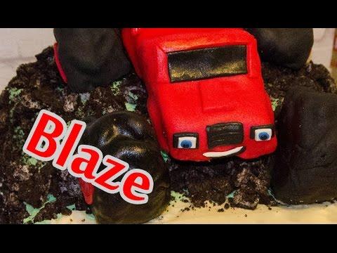 how to make a blaze cake