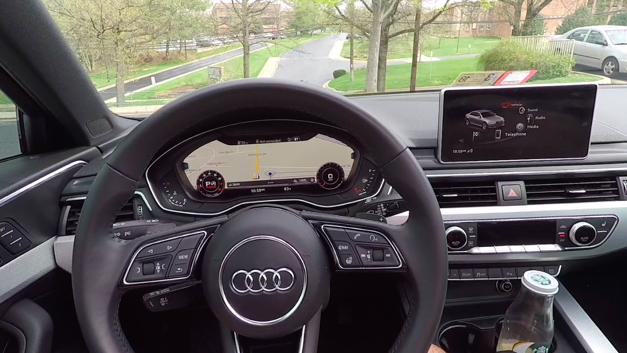 NEW Audi Virtual Cockpit, Apple CarPlay, & MMI Overview - YouTube