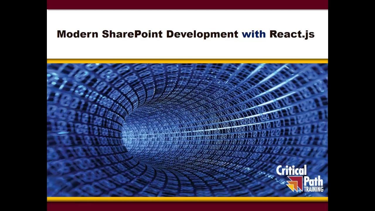 Modern SharePoint Development with React