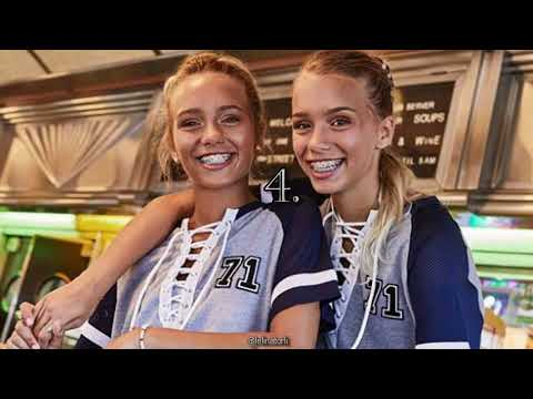 5 THINGS YOU CAN TELL LISA AND LENA APART!