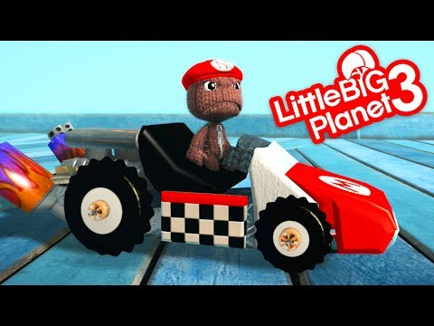 LittleBigPlanet 3 - Video Game Items in LBP - Short Funny Animation | EpicLBPTime