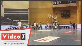مصر تفوز على الجزائر بالبطولة العربية للسلة