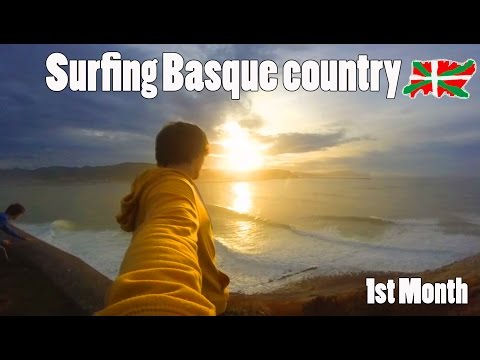 SURFING BASQUE COUNTRY 2016 | 1ST MONTH