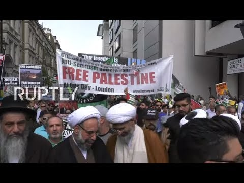 LIVE: Al-Quds day rally takes place in London