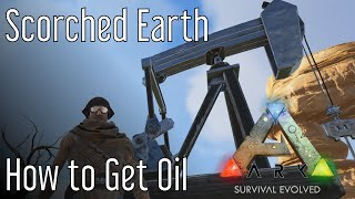 How to Get Oil in ARK: Scorched Earth