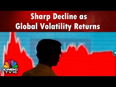 Closing Bell (4th Apr)   Sharp Decline as Global Volatility Returns   US China Trade War   CNBC TV18