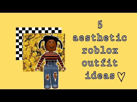 Aesthetic Roblox Outfits Girls Youtube