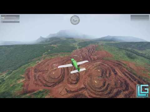 Überflug über Tanoa