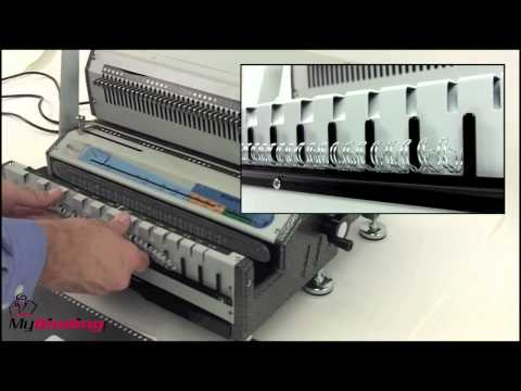 Akiles WireMac E31 Electric Wire Binding Machine Demo - AKWIREMACE31