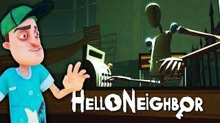 Hello Neighbor КОШМАРНЫЙ СУПЕРМАРКЕТ с МАНЕКЕНАМИ Мультяшный хоррор Страхи в Привет Сосед