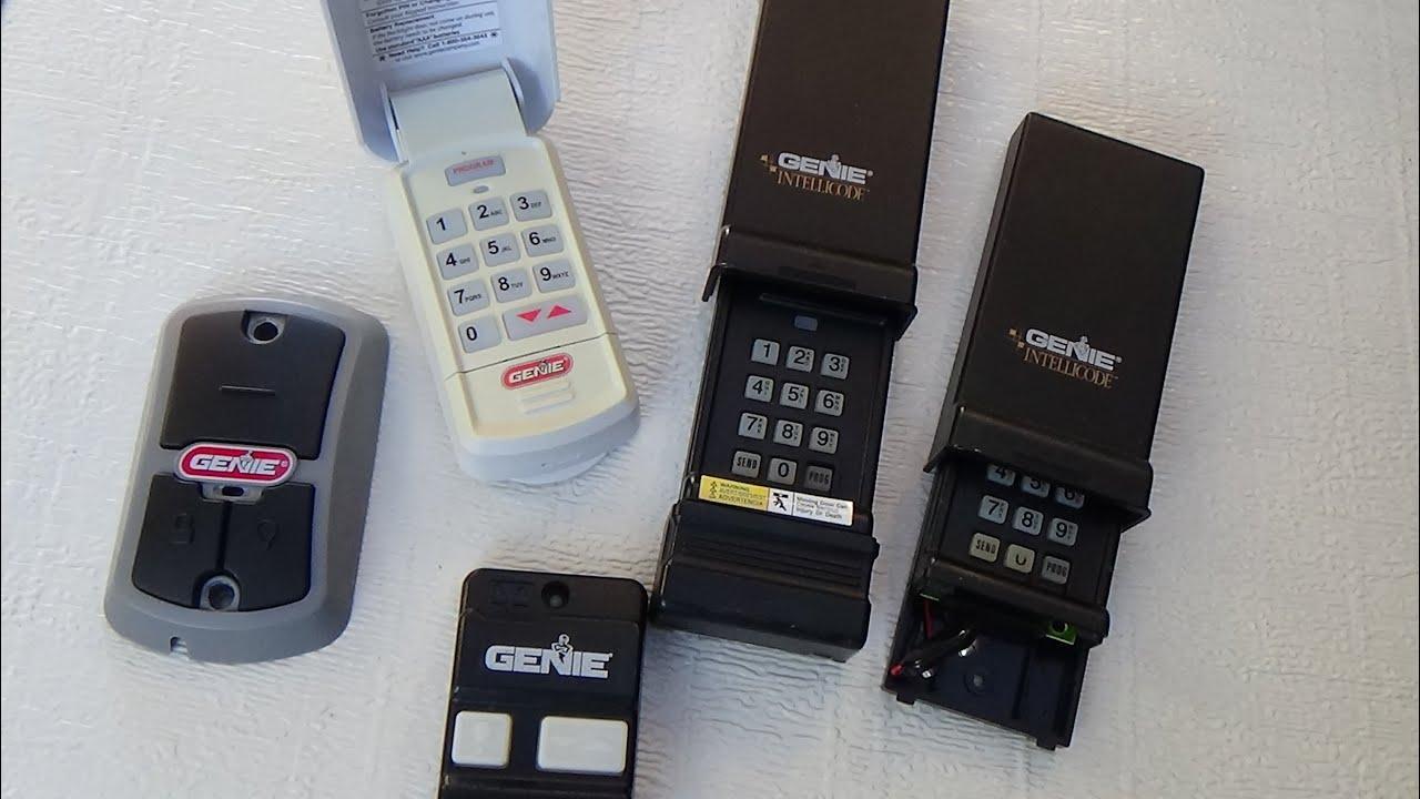 Genie Wireless Keypad InstructionsPDFsaveAll Models