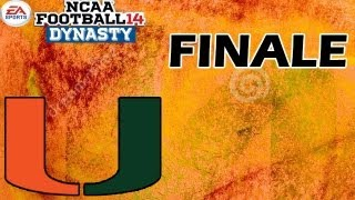 NCAA Football 14 Dynasty - THE U - Ep. 16 - FINALE - Offseason & SEASON 2