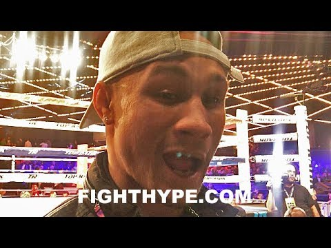 "REGIS PROGRAIS KEEPS IT 100 ON MIKEY GARCIA CLASH; WANTS IT LIKE ""TRIPLE G AND CANELO WAS"""