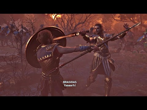 Assassin's Creed Odyssey - Athens Vs Sparta & Deimos Boss Fight