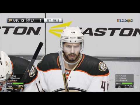 NHL 17 - Anaheim Ducks vs Los Angeles Kings | Gameplay (HD) [1080p60FPS]