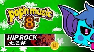 Playing Pop'n Music 8! - 大見解 [Hip Rock] H