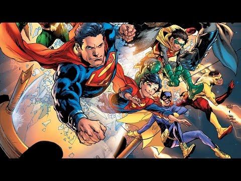 DC Comics Rebirth Week 7 - Birth, Birth, and more Birth