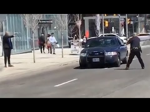 Toronto police officer single-handedly arrests van driver su