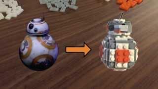 ВВ-8 керівництво складання Лего