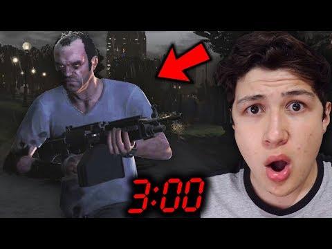 Esto Pasa Si Obtienes 6 ESTRELLAS a las 3:00 AM en GTA 5... Grand Theft Auto V - GTA V thumbnail