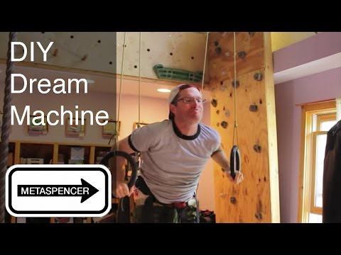 How To Make a Dream Machine Gymnastic Rings System DIY