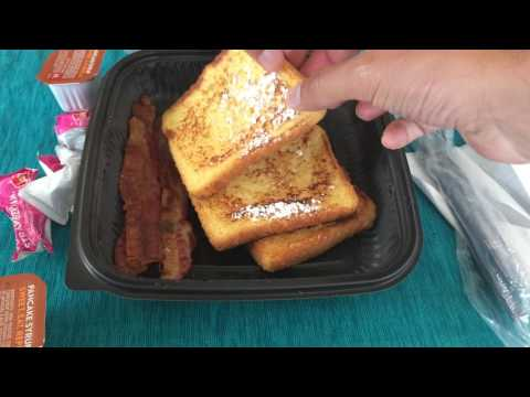 Jack In The Box GRILLED FRENCH TOAST PLATE Review