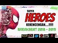 HEROES NYA MELINTIRRRR         DJ BREAKBEAT TERBARU 2018 2019 REMIX DUGEM DJ LOUW L3