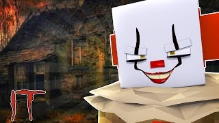 MINECRAFT IT THE CLOWN - WE FOUND HIS HOUSE!