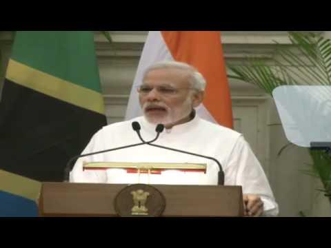 PM Shri Narendra Modi's Media Statement during the State Visit of President of Tanzania