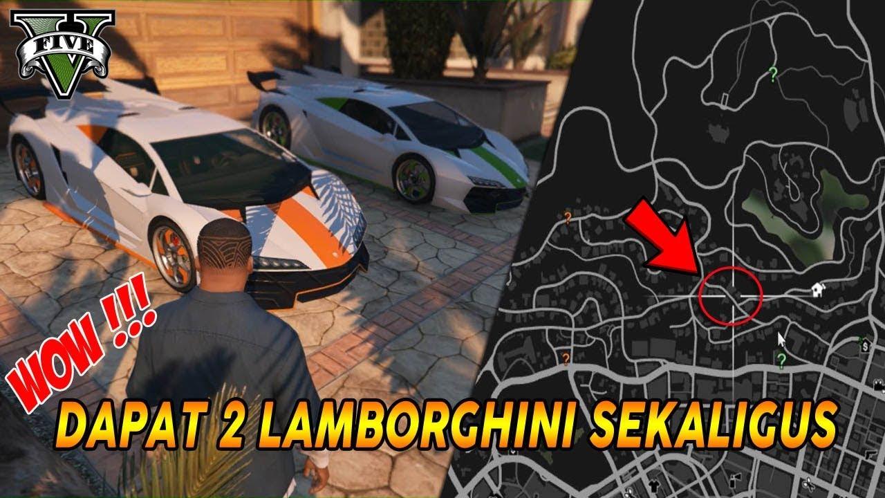 No Hoax 2 Lokasi Munculnya Mobil Sport Lamborghini Di Gta 5 Zentorno Spawn Location Pc Ps4 Xb1 Youtube