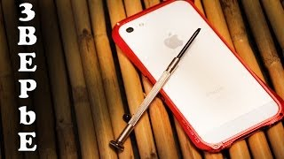 Чехол Deff Cleave iPhone 5(Чехол Deff Cleave iPhone 5 Также жду вас на моем канале http://www.youtube.com/user/3BEPbEnokia Моя страница http://Google.com/+3BEPbEnokia Мой ..., 2014-02-01T08:00:01.000Z)
