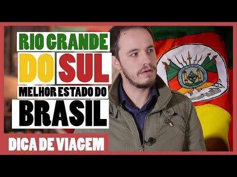 Por que o RIO GRANDE DO SUL é o MELHOR ESTADO do Brasil?