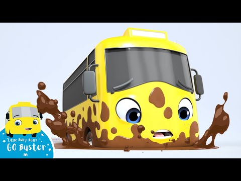 Go Buster - Stuck in the Mud | BRAND NEW SERIES | Kids Cartoon | Little Baby Bum | Cartoons For Kids