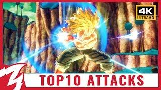 TOP 10 ULTIMATE ATTACKS 🏆 Dragon Ball Xenoverse 2 ● 4K