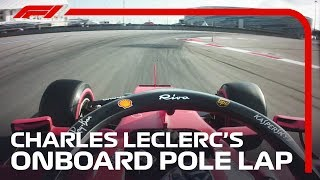 Charles Leclerc's Onboard Pole Lap | 2019 Russian Grand Prix | Pirelli