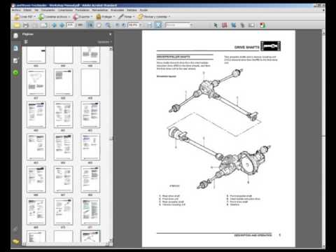 Land Rover Freelander - Workshop, Service, Repair Manual