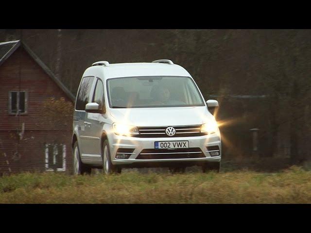 Motorsi Proovisõit - Volkswagen Caddy