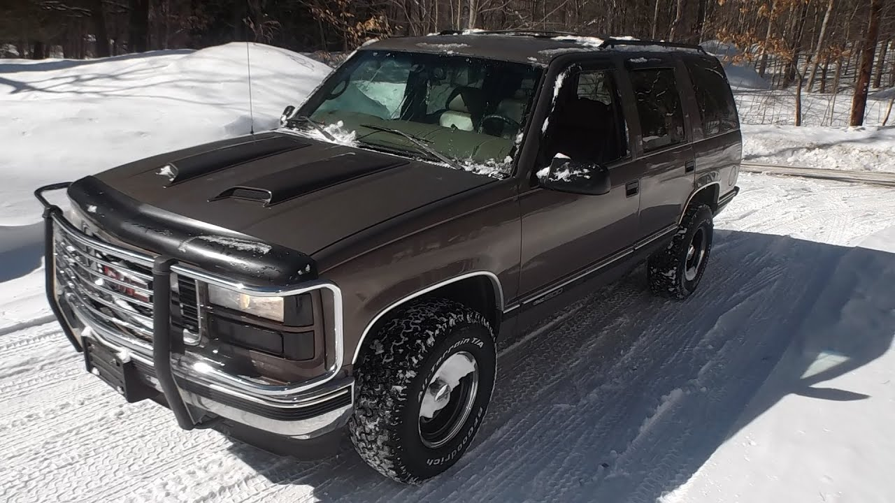 Gmc Yukon For Sale >> 1997 GMC Yukon For Sale - YouTube