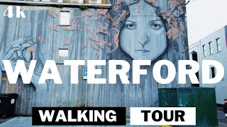⁴ᴷ⁶⁰ Walking in WATERFORD Virtual walking tour 4k Ireland