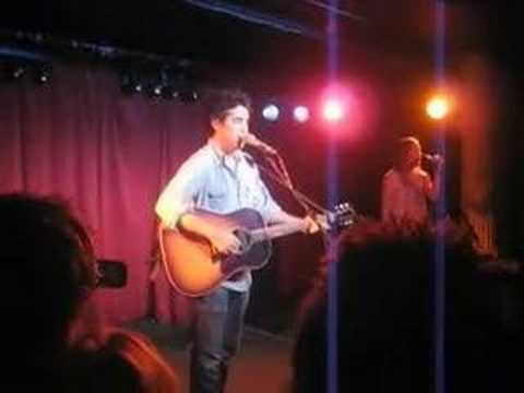 Joshua Radin @ The Monto  08: Only You