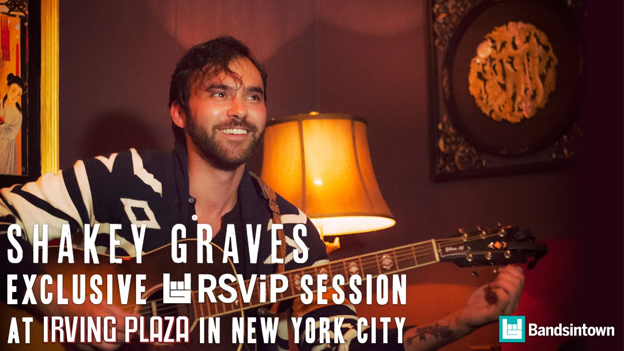 """Bandsintown RSViP: Shakey Graves """"Late July"""" Acoustic Session"""