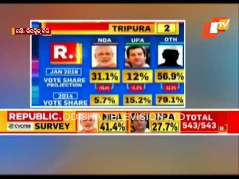 Republic TV Survey Predicts BJP To Gain In Odisha